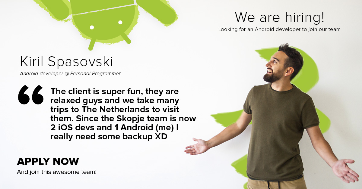 [standby] Experienced Android Developer