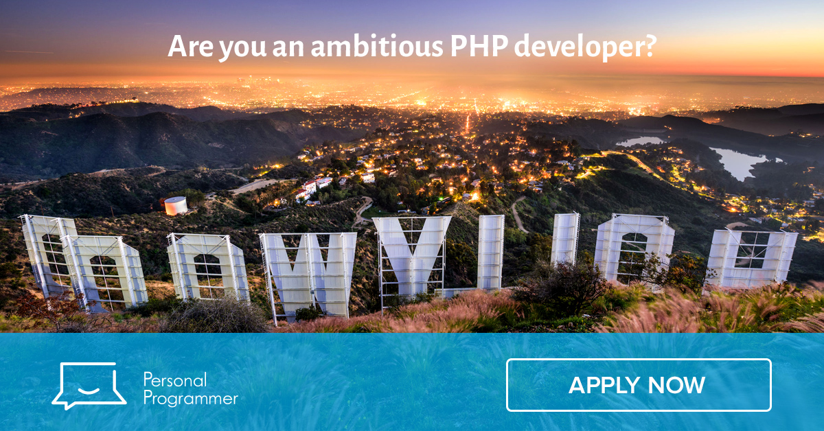 Senior PHP Developer For Major Internet Company