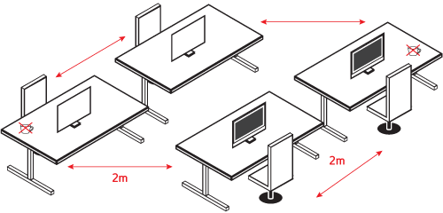 desk-spacing