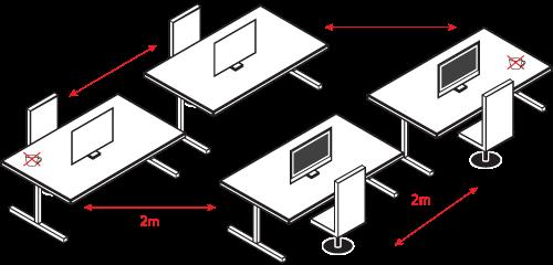desk-spacing